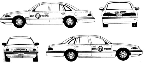 Ford Crown Victoria (1994)