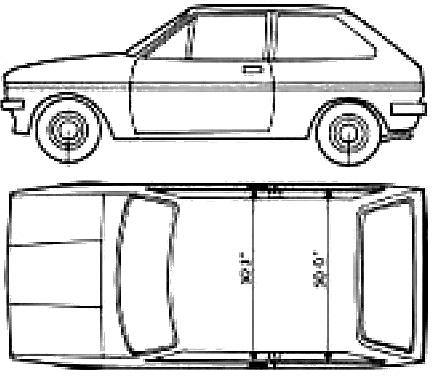 Ford E Fiesta Mk. I (1979)