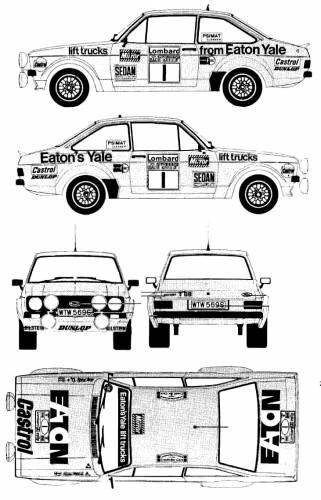 Ford Escort Mk.II RS1800 Rallye