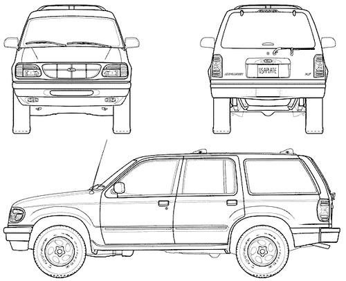 Ford Explorer (1998)