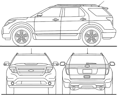 The-Blueprints.com - Blueprints > Cars > Ford > Ford ...