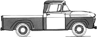 Ford F-100 Truck (1958)