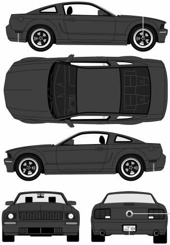 Ford Mustang Bullitt (2008)