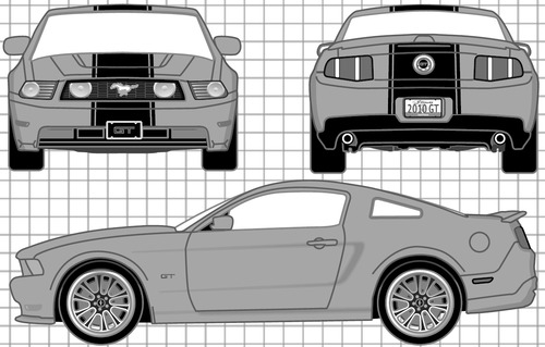 Ford Mustang GT Coupe (2010)