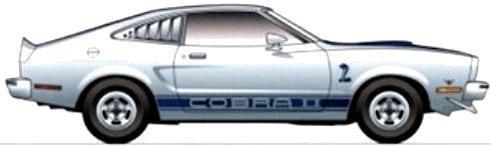 Ford Mustang II Cobra II (1977)