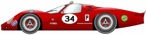 Ford P68 (1968)