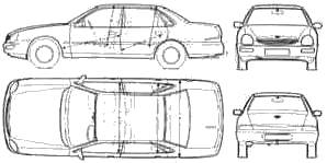 Ford Scorpio (1995)
