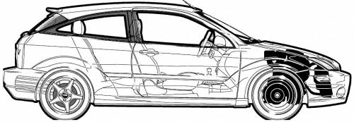 Ford e focus s3 5 Door  282011 29 moreover Citroen C4 2008 likewise Ford svt focus  282002 29 moreover Ford Focus Fuse Box Diagram Useful Captures Like Panel Relay besides Volkswagen Touran Dimensions 0406. on ford focus size dimensions