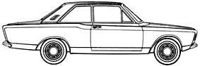 Ford Taunus 17M P7 2-Door (1967)