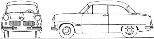 Ford Taunus P1 12M (1955)