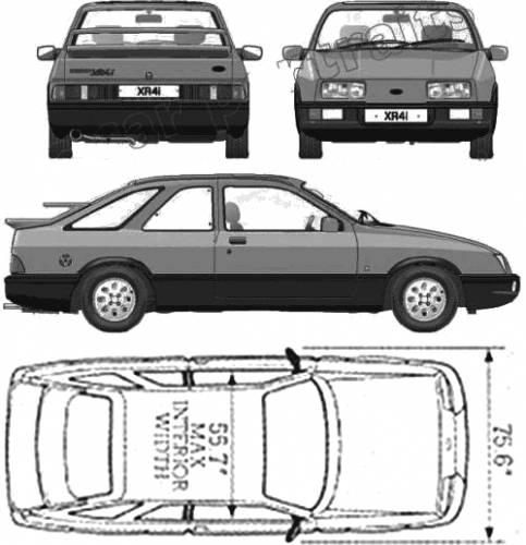 The Ford Sierra 4 Looks