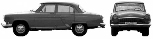 GAZ-21 Volga