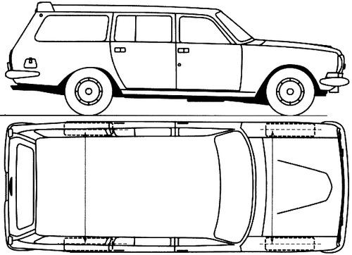 GAZ-24-12 Volga Station Wagon