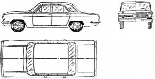 GAZ-24 Volga (1970)