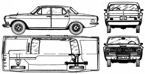 GAZ-24 Volga (1972)