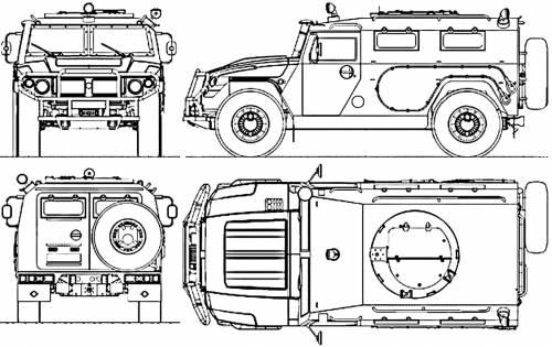 GAZ-2975 Tigr (2002)