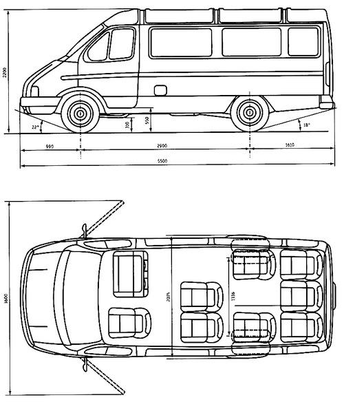 GAZ-3221 Gazelle