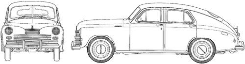 GAZ-M20 Pobeda (1945)
