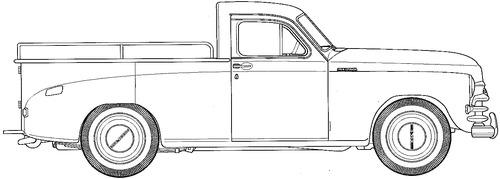 GAZ-M20 Pobeda Pick-up (1949)