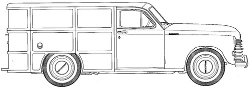 GAZ-M20 Pobeda Van (1949)