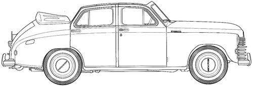 GAZ-M20B Pobeda (1949)