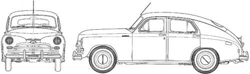 GAZ-M20V Pobeda (1955)