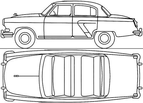 GAZ-M21 Volga