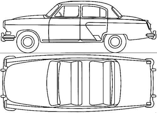 GAZ-M21M Volga