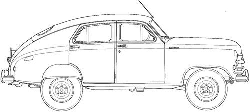 GAZ-M72 Pobeda (1955)