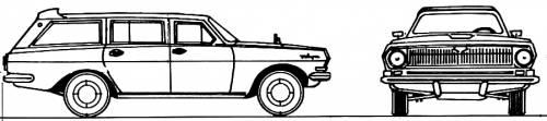 GAZ Volga M24 Wagon (1978)