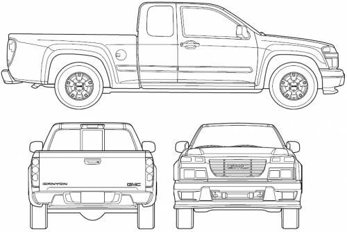 GMC Canyon Extended Cab (2006)