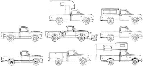 GMC Pick-up Truck (1969)