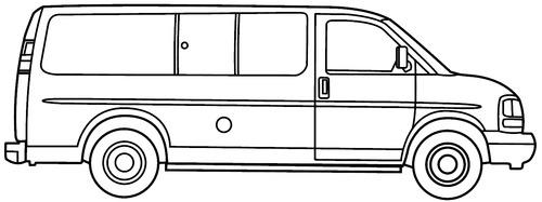 GMC Savana swb (2015)