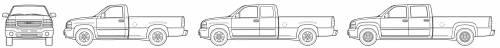 GMC Sierra 1500HD Pick-Up (2007)