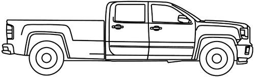 GMC Sierra 3500 Double Cab Ext. (2015)