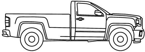 GMC Sierra 3500 Reg Cab (2015)