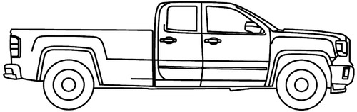 GMC Sierra 3500 Twin Cab Ext. (2015)