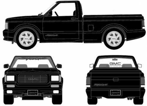 GMC Syclone Pick-up (1991)