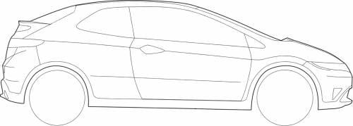 Honda Civic Type-S Side