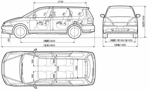 Honda Odyssey Interior Dimensions likewise 2000 Daewoo Leganza Wiring Diagram moreover Honda Ascot Innova likewise Honda odyssey  2013 likewise File Chevrolet Uplander Swb 2006. on honda odyssey size dimensions