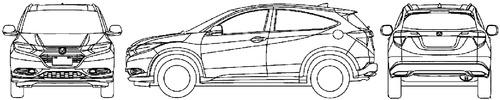Honda Vezel (2016)