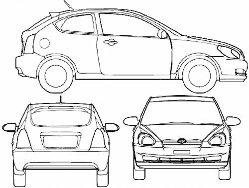 Hyundai Accent 3-Door (2008)