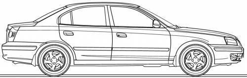 Hyundai Elantra 4-Door (2004)