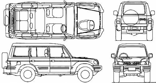 Hyundai Galloper LWB