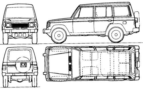 Hyundai Galloper lwb (1991)