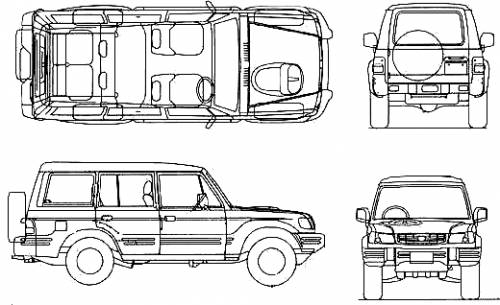 Hyundai Galloper LWB (2003)