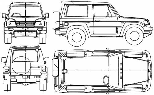 Hyundai Galloper swb (2001)