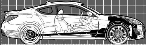 Hyundai Genesis Coupe 2.0T R-Spec (2013)
