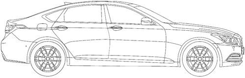 Hyundai Genesis G80 (2016)