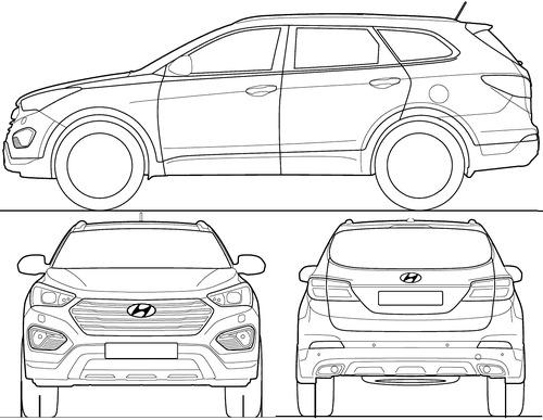 Hyundai Grand Santa Fe (2014)